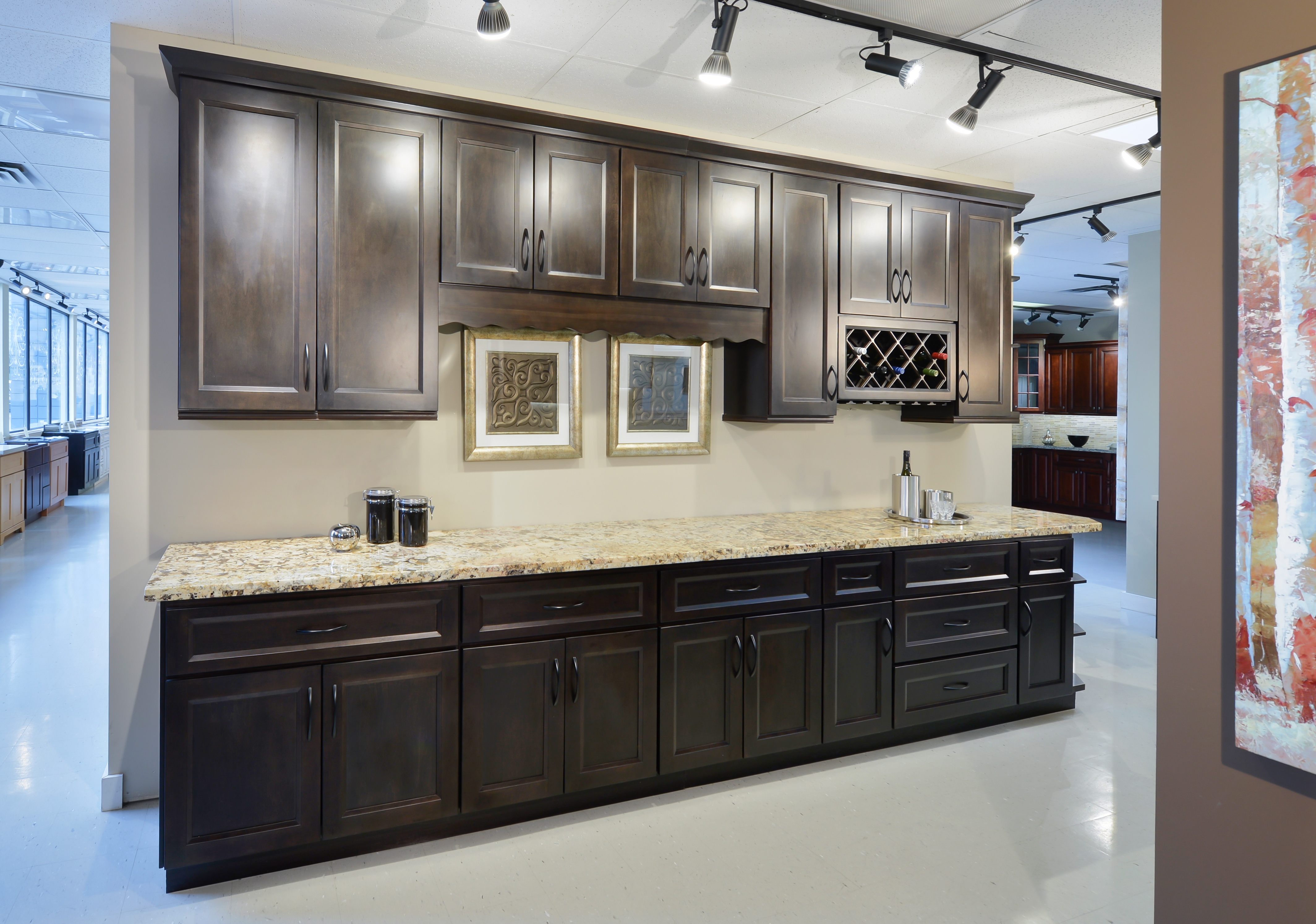 Classic Wood Cabinetry - Absolute Charcoal Sample Kitchen