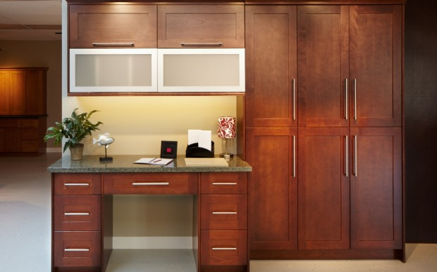 Classic Wood Doors - Autumn Cherry Sample Kitchen