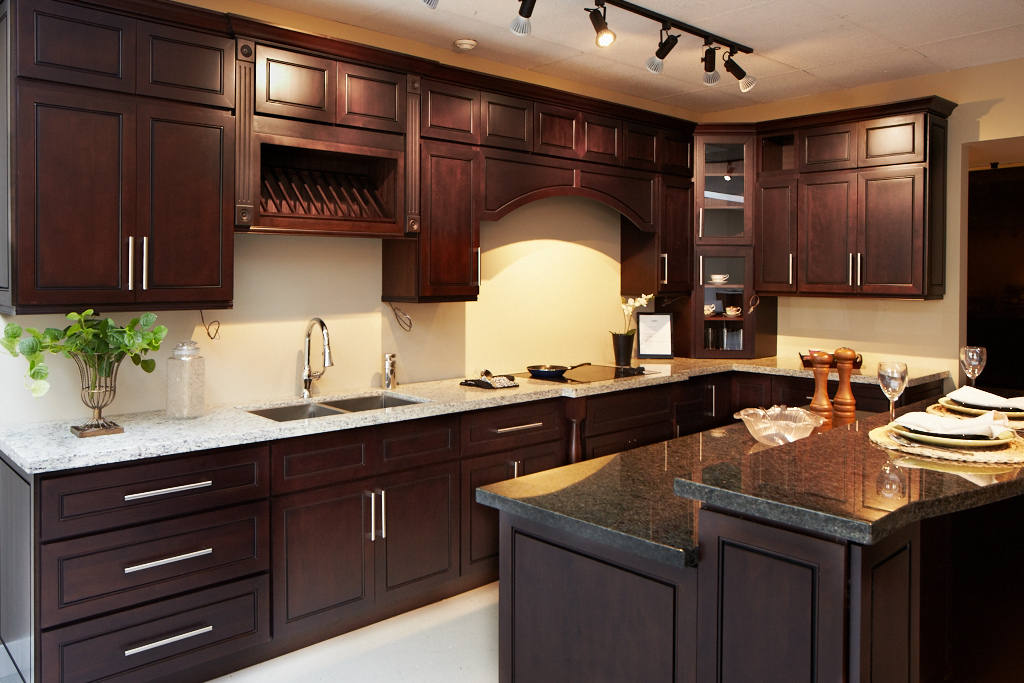 Classic Wood Doors - Modern Chocolate Sample Kitchen